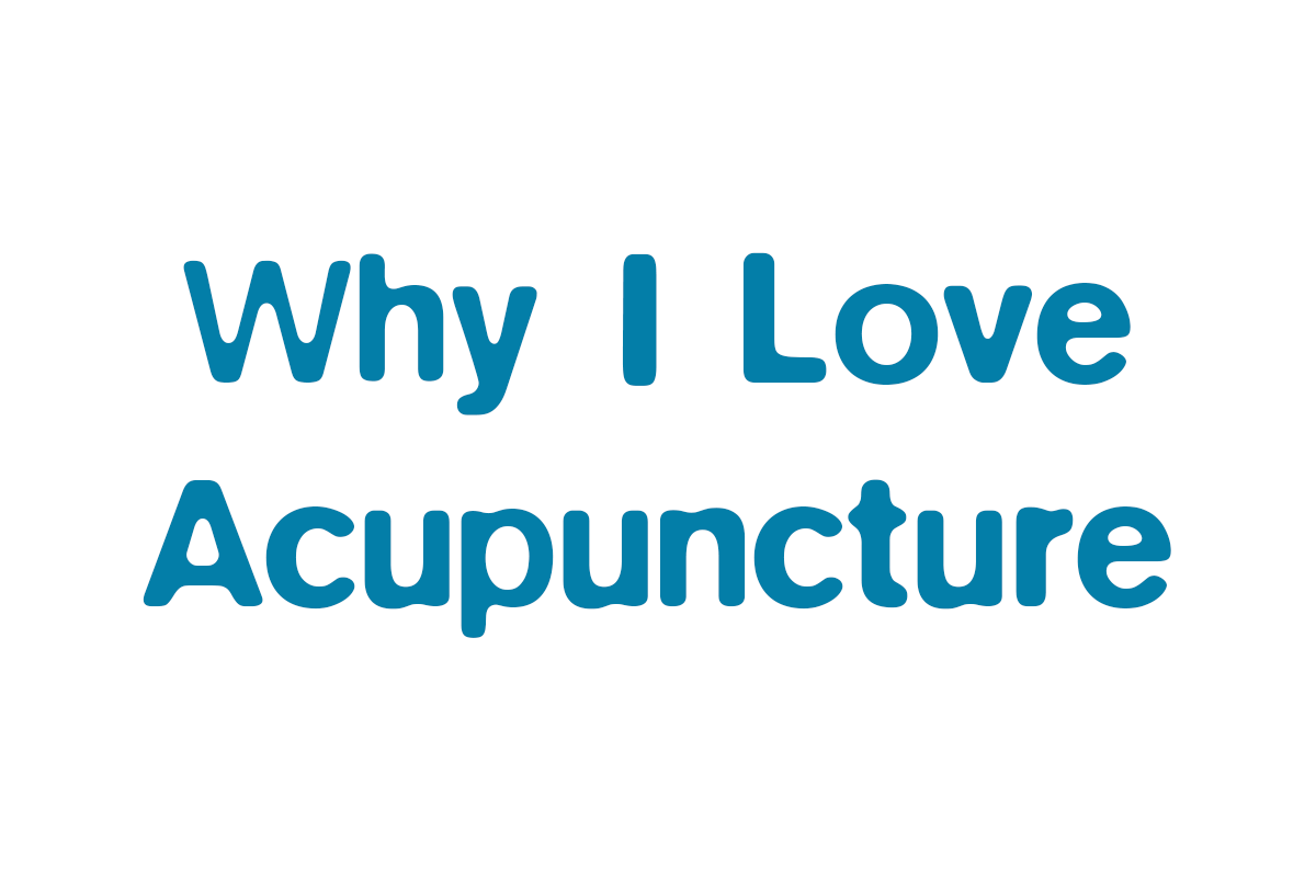Why I love acupuncture – Drugs