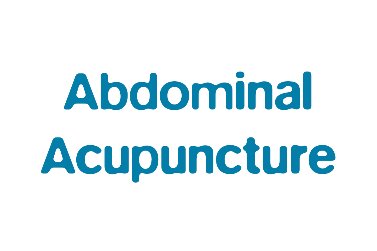 Abdominal Acupuncture is at the centerof your health