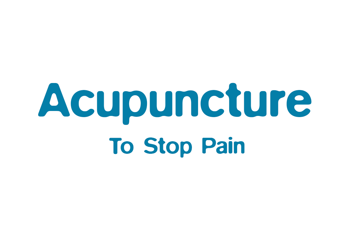 Acupuncture to stop Pain