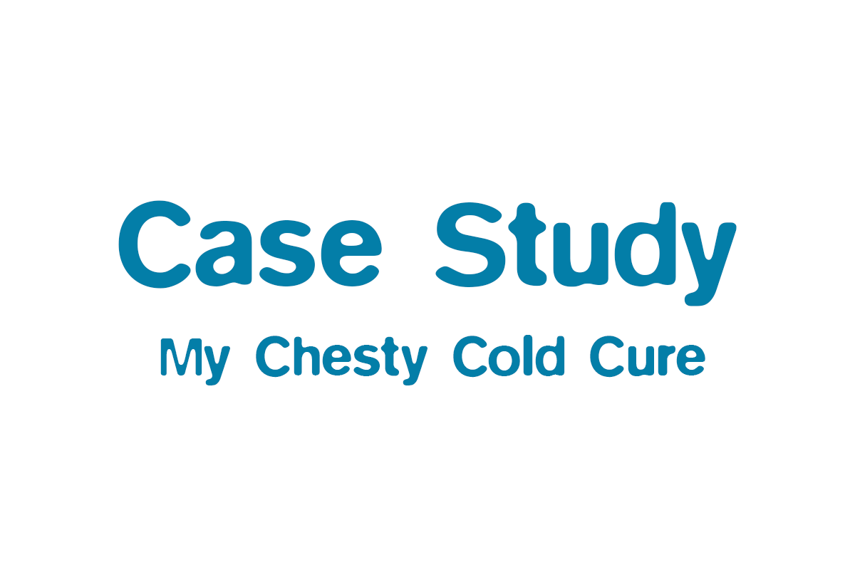 My Recent Chesty Cold Cure
