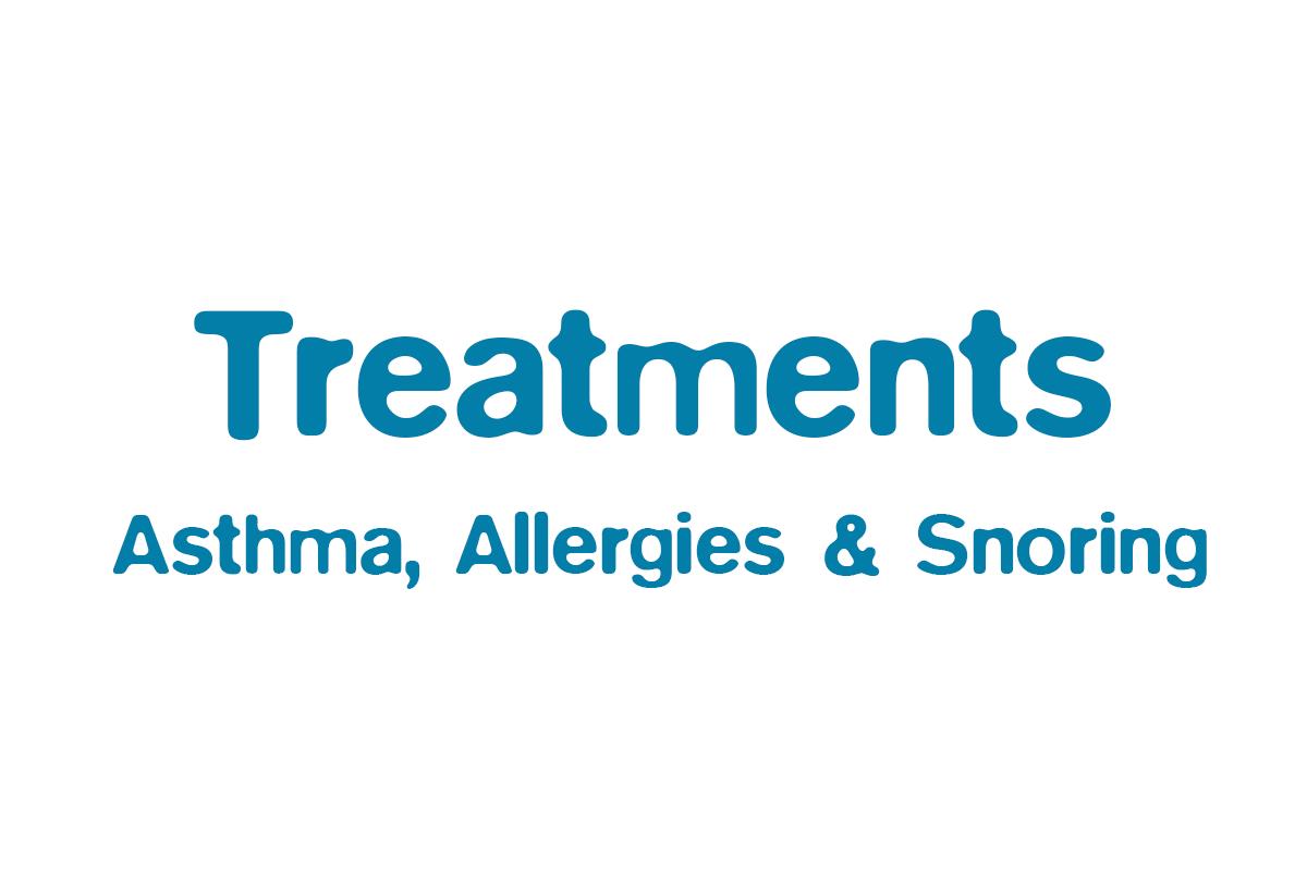 Stop Asthma, Allergies & Snoring
