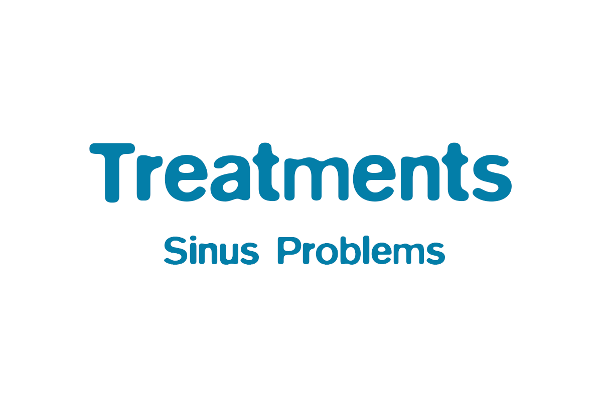 Acupuncture to clear Sinus problems